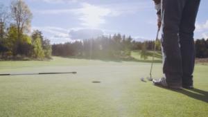 Tjusta Golfklubb - Collage över Tjusta Golfklubbs bana