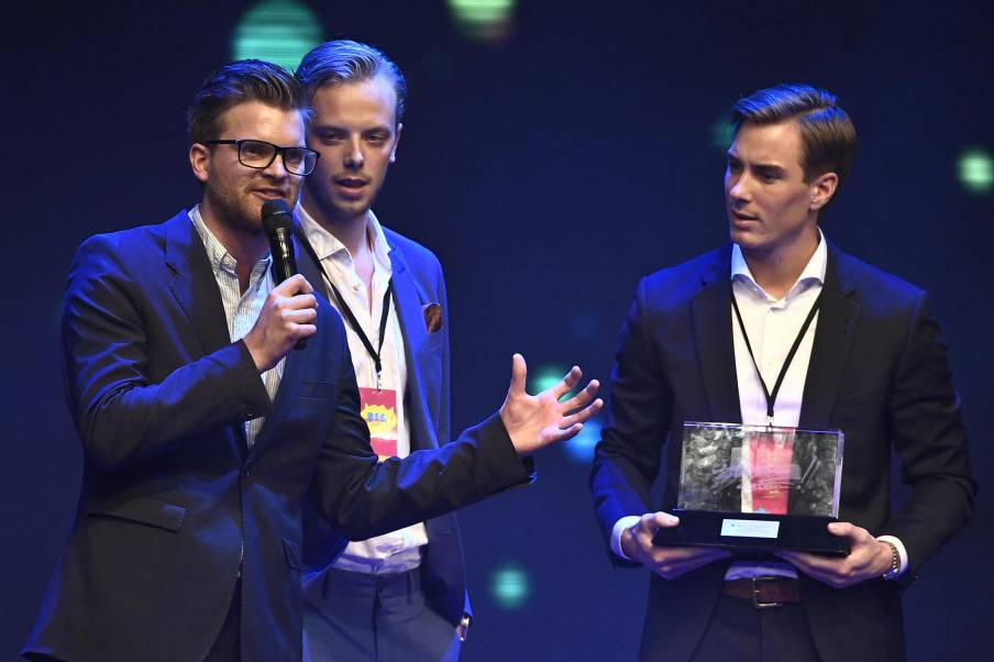 Jonas Fagerström, Carl Déman, Lucas Simonsson